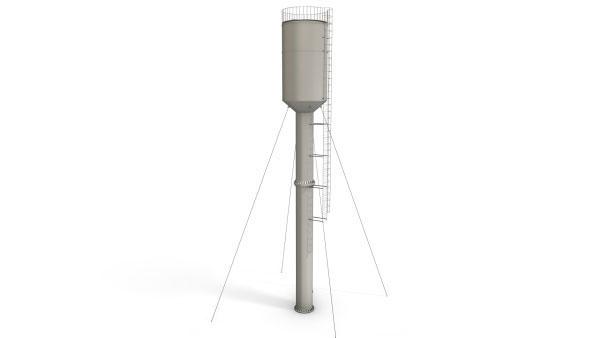 Башня ВБР 50У 15 — высота опоры 15 метров